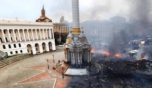 Revolution and ruin in Ukraine.